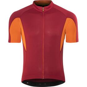 Mavic Aksium Jersey Men red/orange